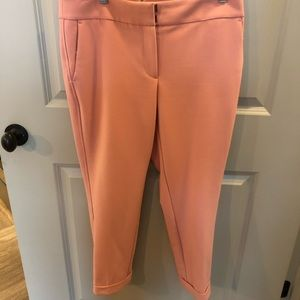 Light pink slacks in like new condition.